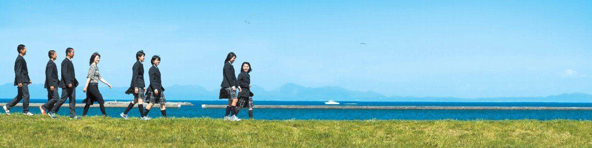 小樽の海・山が望めるロケーション